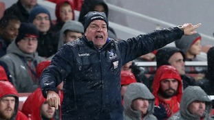 Sam Allardyce saw his Palace side beaten 2-0 at the Emirates but is targeting wins against more lowly opposition.
