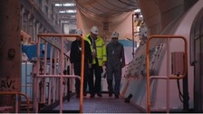 Inside Wylfa power station