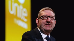 McCluskey described Labour's poll ratings as 'awful'