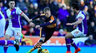 Newcastle lose 1-0 to Blackburn at Ewood Park