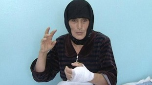 56-year-old Aishat Maksudova, from Novo Biryuzuak in the Dagestan region of Russia.