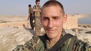 Ryan Lock had no military background.