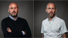 Colchester manager John McGreal and Cambridge's Shaun Derry are both up for Manager of the Month