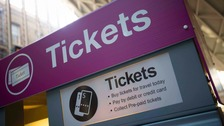 Demonstrations are being held at 21 stations across the Midlands over the latest rise in rail fares.