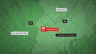 The crash happened near Lidlington.