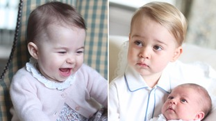 Duchess of Cambridge's photos of George and Charlotte given seal of approval by Photographic Society