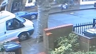 Toddler pushed to the ground in violent robbery
