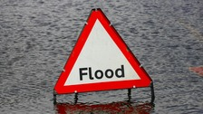 Flood alerts have been issued around the East Anglian coast.