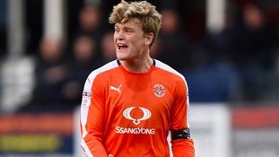 McGeehan broke his leg at Portsmouth.