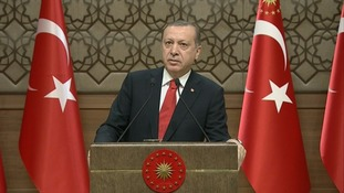 President Tayyip Erdogan.