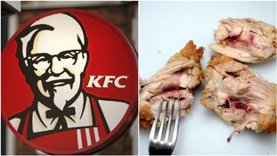 KFC chicken: Family made violently ill after being served raw and bloody meat