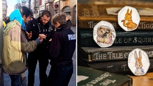 Homeless man begging for change given rare coin 'worth a fortune'