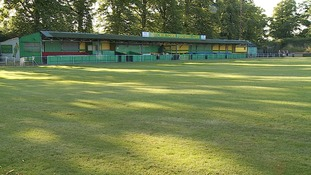 Hitchin Town FC in Hertfordshire.