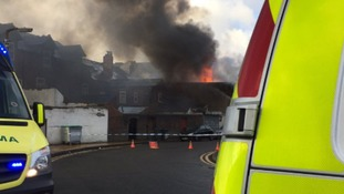 'Potentially dangerous' fire breaks out in West Bromwich