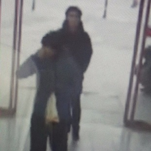 The suspected Istanbul nightclub attacker walks into a bus station in Konya.