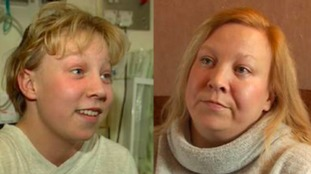 Debra Philingham was just 17 when she had the operation in 1996, she now has her own family.