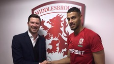 Middlesbrough FC sign Aston Villa striker Rudy Gestede on a three and half year deal