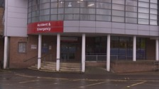 People are being urged to stay away from A&E.