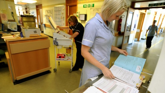 "The Royal College of Nursing (RCN) has warned that the NHS is ""sleepwalking into a crisis"""