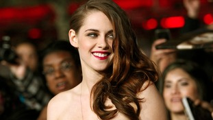 Kristen Stewart at the Breaking Dawn Part 2 premiere in LA
