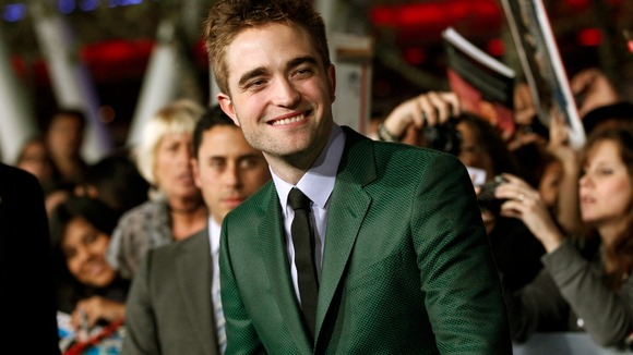 Robert Pattinson at the Breaking Dawn Part 2 premiere in LA