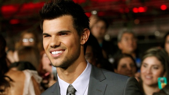 Taylor Lautner at the LA premiere