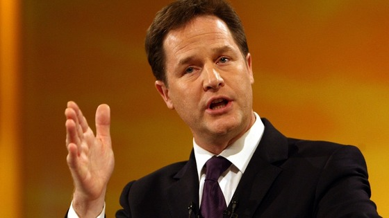 Deputy Prime Minister Nick Clegg spoke to Daybreak this morning