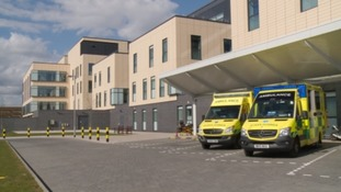 Southmead hospital in Bristol says it's struggling to cope with demand