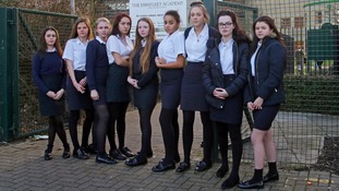 Girls sent home from school for wearing skirts that were too short