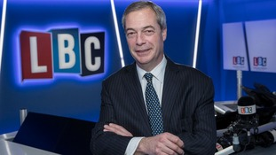 Nigel Farage to host daily LBC radio show