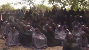 A video of the missing girls emerged shortly after their abduction