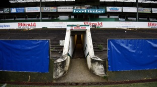 The Grandstand Is Home To Dressing Rooms And Tunnel Credit PA Images