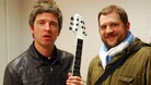 Noel Gallagher was one of the Manchester music icons who signed the guitar for charity