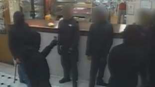 Still image from a CCTV issued by the Metropolitan Police.