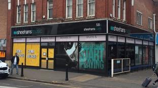 Sheehans Music store