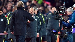Klopp thankful for tetchy Pep