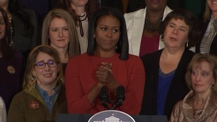 Michelle Obama: Lead with hope not fear
