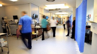 NHS staff are struggling to cope with the workload.