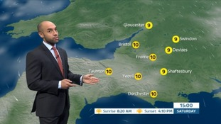Alex Beresford with the forecast.