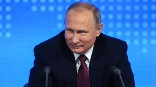 Putin  'ordered' campaign to influence US presidential election