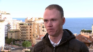 Chris Froome tells ITV News he refused banned steroid under medical exemption