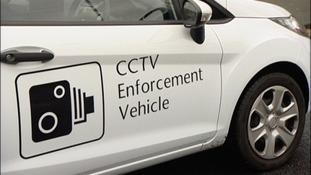 CCTV car tackles dangerous parking outside school