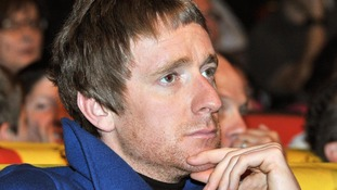Bradley Wiggins pictured during the 2013 Tour de France presentation in Paris