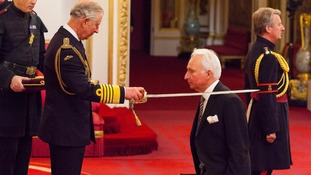 Sir Andrew Cook was made a Knight Bachelor of the British Empire last year.