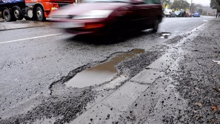 Repairing potholes could reach £14 billion in two years, councils warn