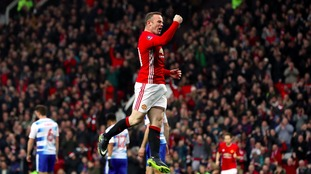 FA Cup report: Manchester United 4-0 Reading - Rooney moves level with Charlton