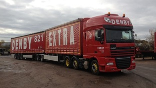 "Denby's fuel-saving  "" super lorry"""