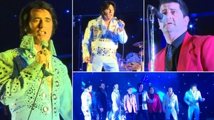 Elvis tribute acts battle it out to become European champion