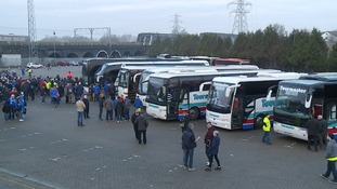 Coaches ready to take Posh fans to Chelsea