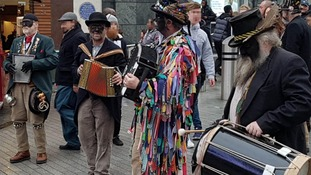Morris dancers forced to stop performance after threats